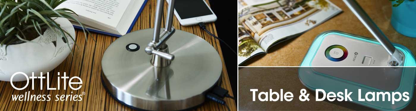 Ottlite Wellness Series Desk Lamps