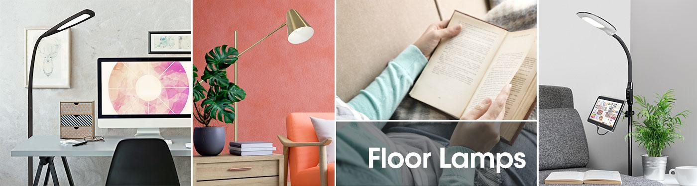 Ottlite Office And Home Floor Lamps