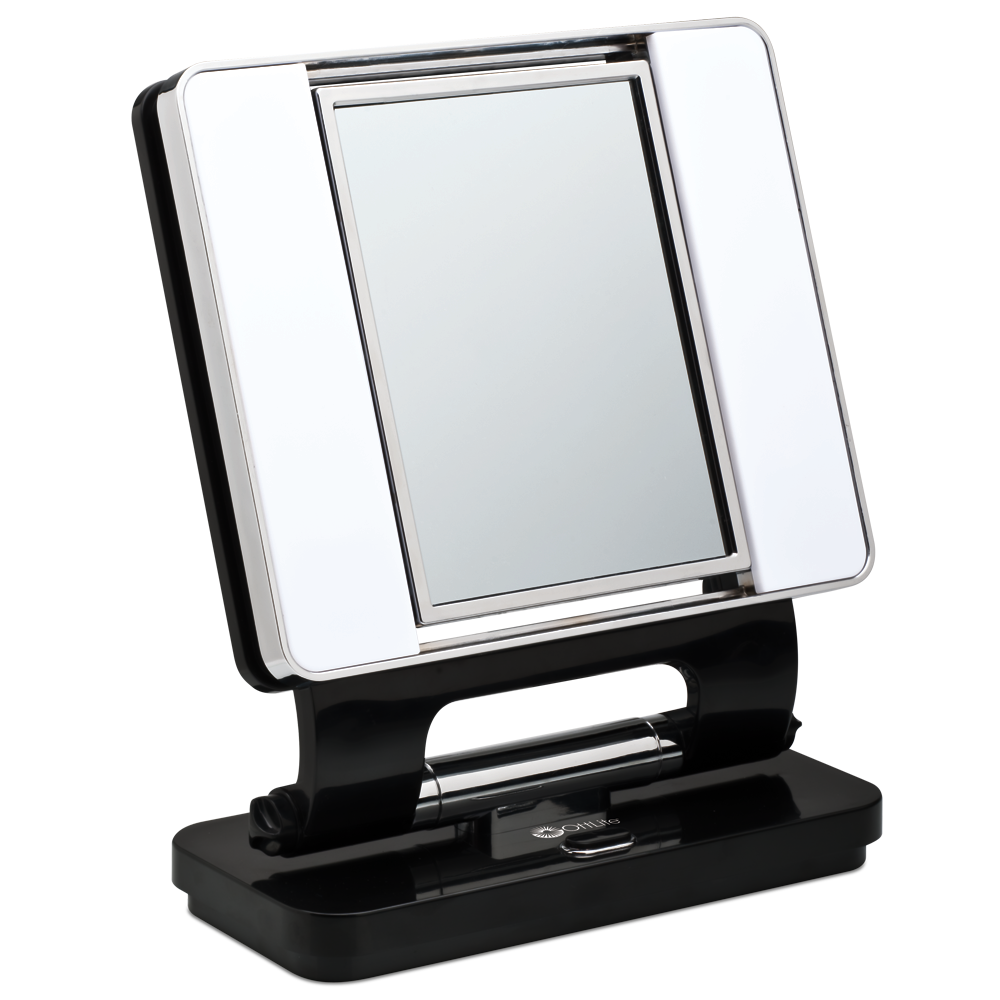 mirror with makeup activated led touch consumer pp lighted lighting in electronics magnifying glass