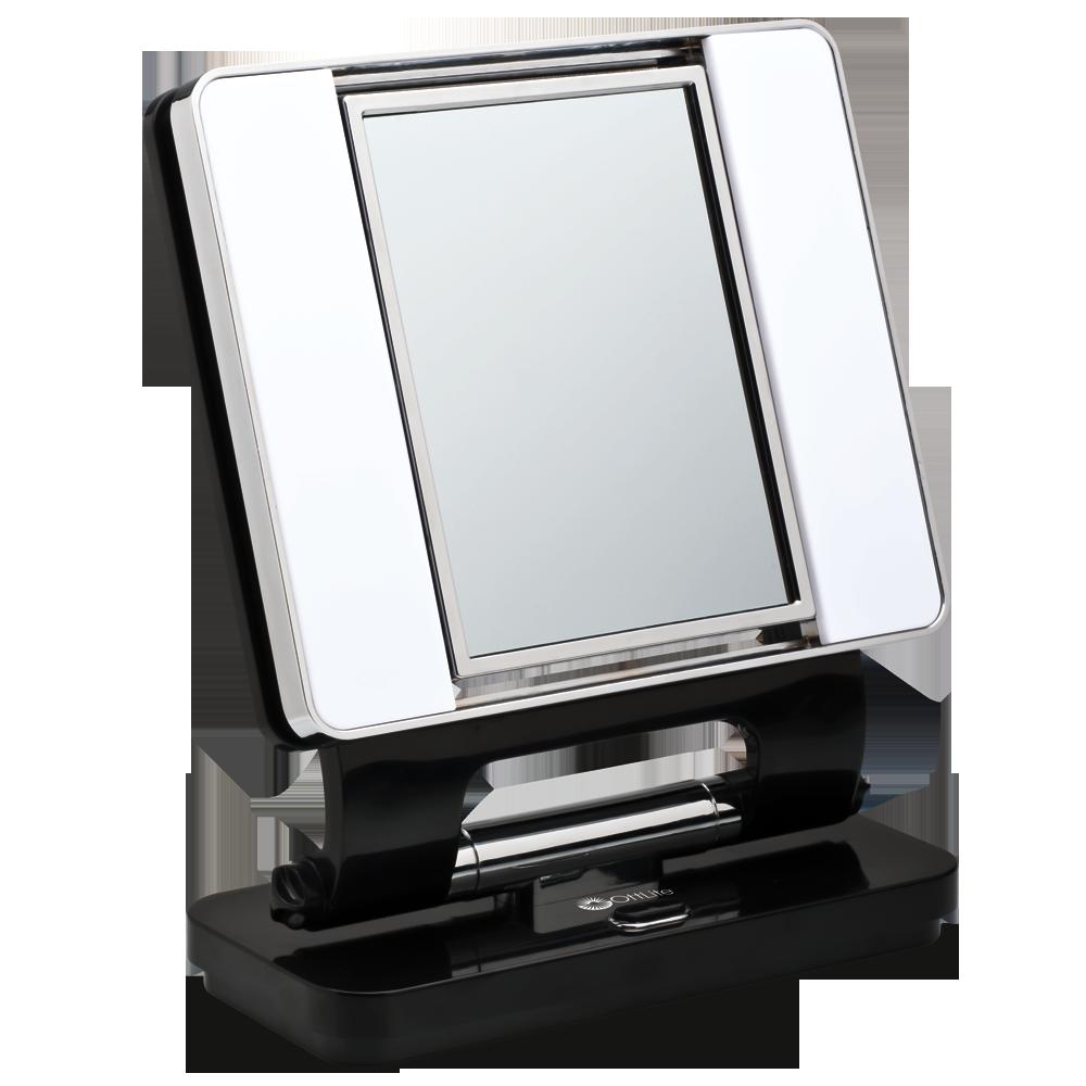 Ottlite Natural Lighted Makeup Mirror White Vanity