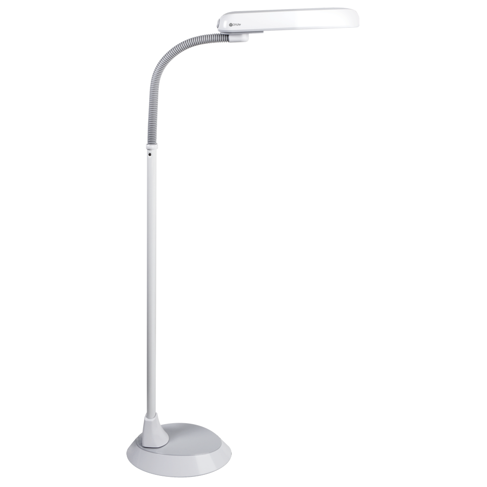 Ottlite 18w Sewing Floor Lamp With Accessory Tray
