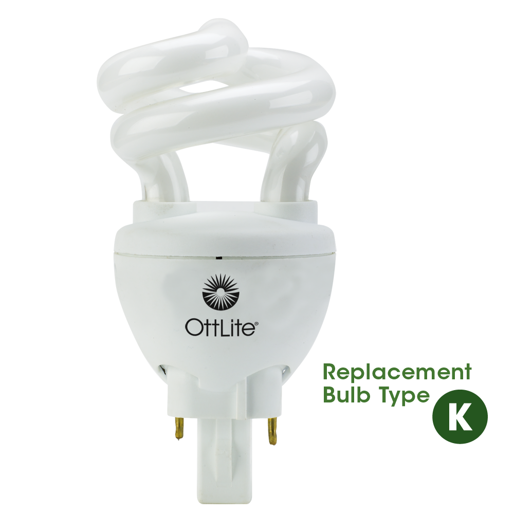 OttLite | 13 Watt Plug-in Bulb | Natural Daylight | Type K ...