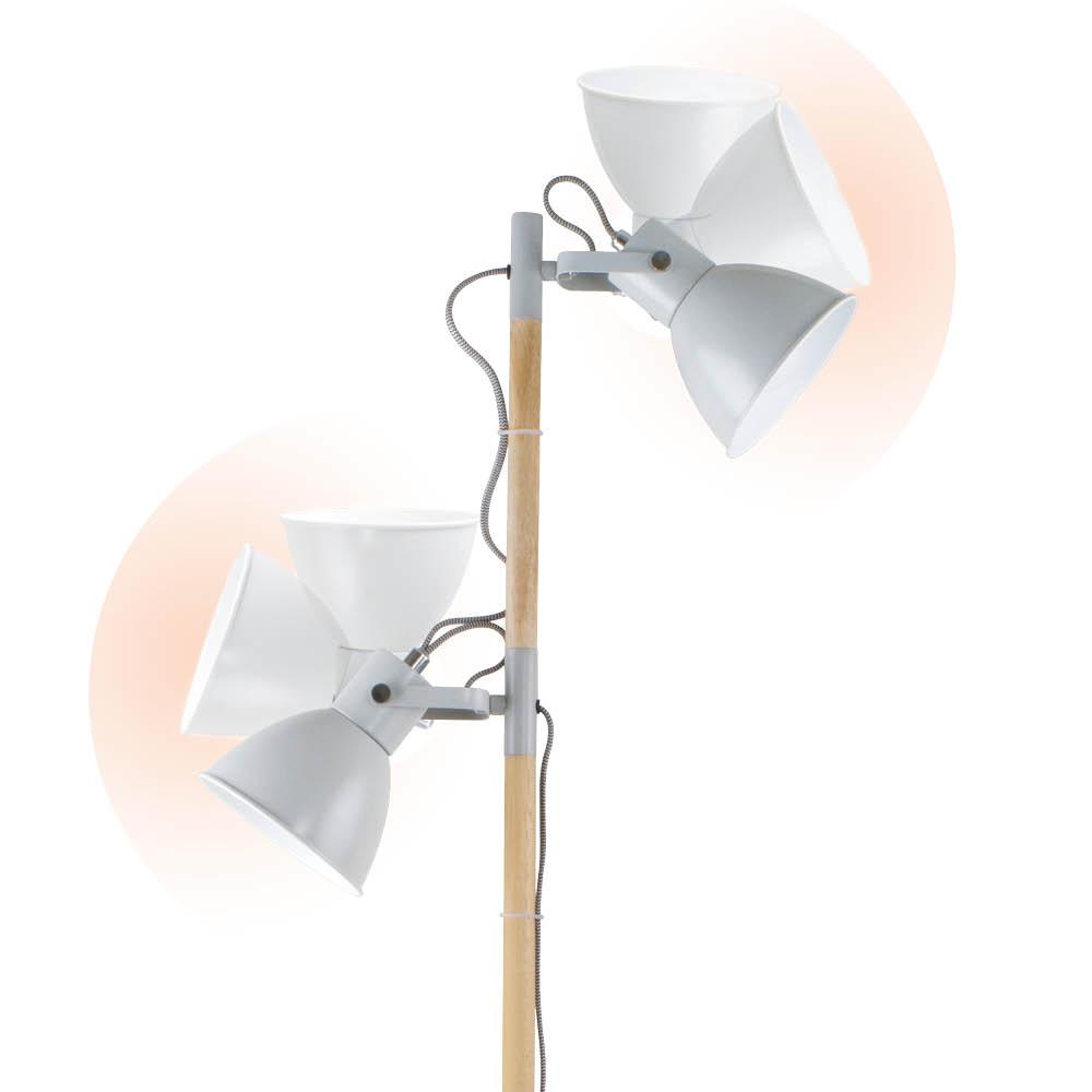 Ottlite Avery Led Floor Lamp Double The Lighting