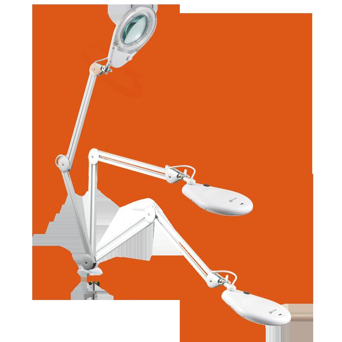 Ottlite 22w Clamp Magnifier Lamp