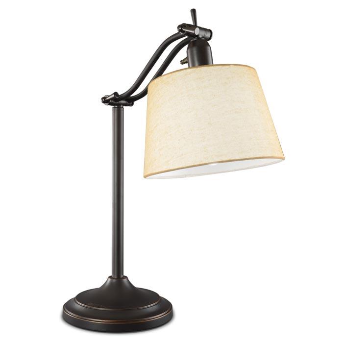 Ottlite Auburndale Table Lamp Antiqued Bronze Desk And
