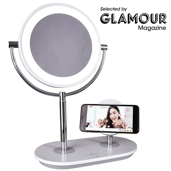 Ottlite Wireless Charging Makeup Mirror Qi Charging