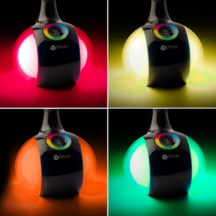 Ottlite Led Desk Lamp W Color Changing Base 3