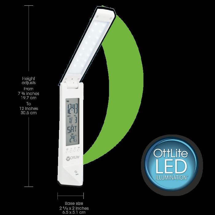 Ottlite Multi Function Led Travel Light Battery Operated