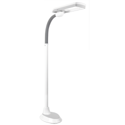 36w Pivoting Shade Floor Lamp