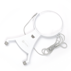 4-inch Hands-Free LED Magnifier