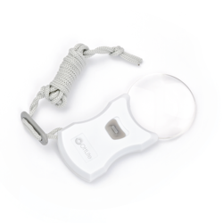 Rimless Pendant LED Lighted Magnifier