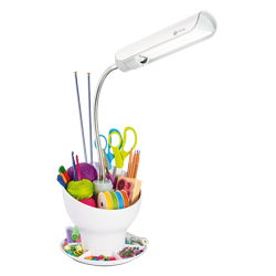 OttLite Craft Space Organizer Lamp