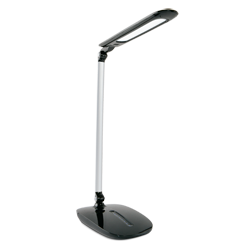 LED Desk Lamp with Sliding Dimmer and USB