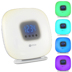 Wake Up Your Way Light & Alarm Clock