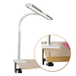 Extra Wide Area LED Clamp Lamp