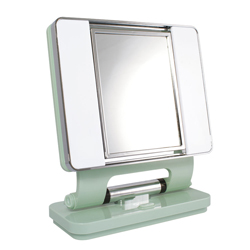 OttLite Natural Lighted Makeup Mirror - Sage Green