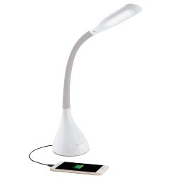 Creative Curves LED Desk Lamp with USB