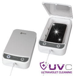 UVC Disinfecting Phone Case with Essential Oil Diffuser
