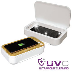 UVC Disinfecting Phone Case with Wireless Charging