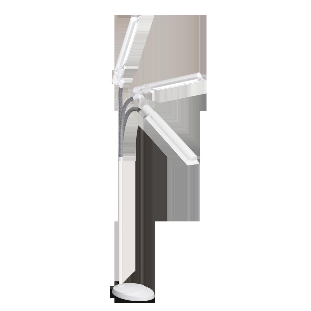 Ottlite 24w Wingshade Floor Lamp Multiple Position