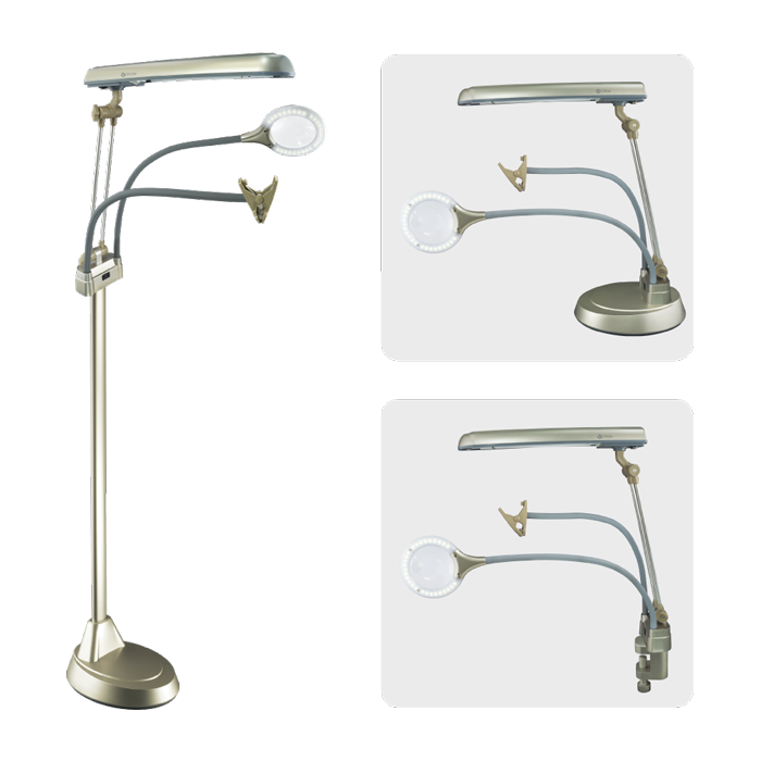 Ottlite Ultimate 3 In 1 Craft Floor Lamp Craft Lamp
