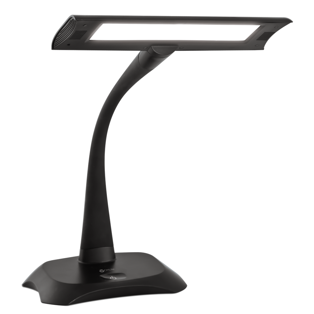 Ottlite flexible led bankers lamp desk lamp aloadofball