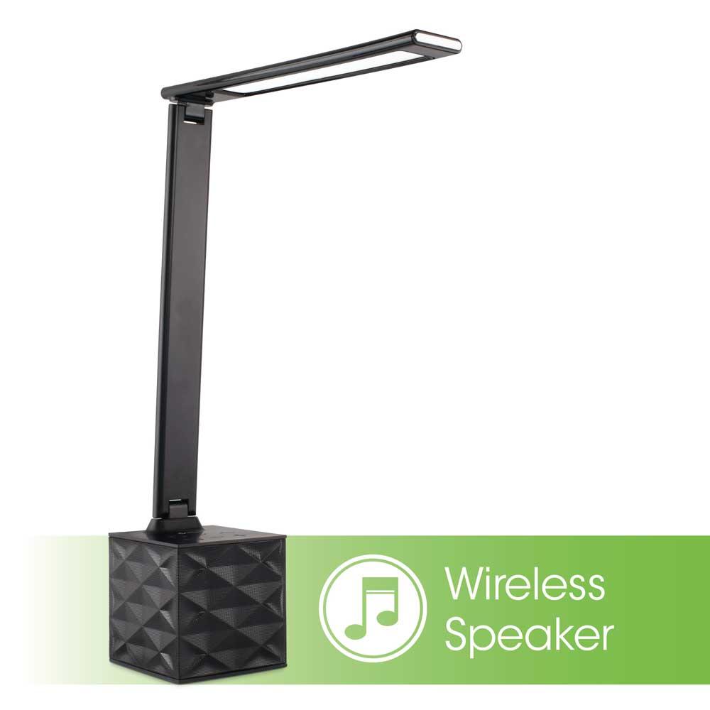 Led BluetoothSpeaker Lamp With Usb