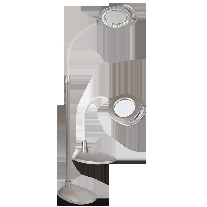 Ottlite 2 In 1 Led Magnifier Floor And Table Light