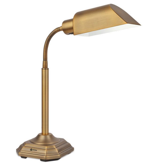 20w Alexander Table L& Click here to view larger image  sc 1 st  OttLite & OttLite 20w Alexander Table Lamp | Bed Lamp | Desk Lamp | Natural ...